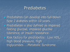 Microsoft PowerPoint - Prediabetes slides1 [Compatibility Mode]