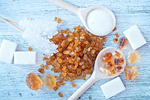 fructose vs. sucrose