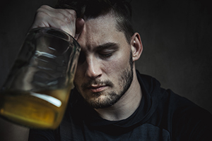 Can dietary changes help my son manage his alcohol addiction?