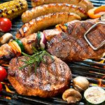 Advanced glycation end products AGEs are a product of grilling