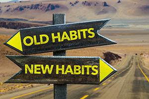 Establishing healthy new habits