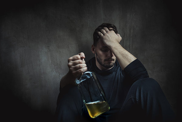 What lifestyle changes can help my son manage his alcoholism?