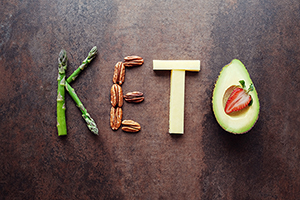 The plot against Keto